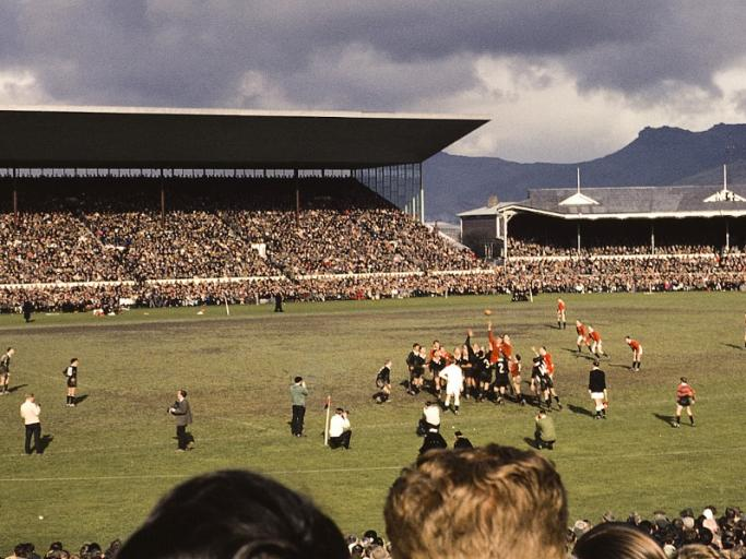 A great shot of the much missed Lancaster Park