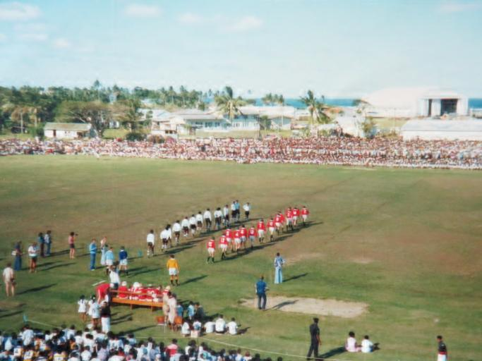 Fiji Rugby's famous day