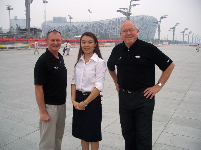 Beijing 2008 - This is the eighth of nine Summer Olympic Games Keith Quinn has attended