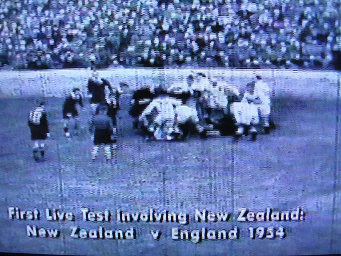 All Blacks first time on TV - 1954