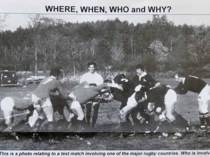 Big Crowds at Test Rugby? It hasn't Always been the Case!