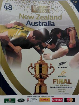 From the 2015 Rugby World Cup. My reports on the early games.